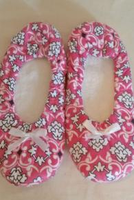 Floral Damask Slippers