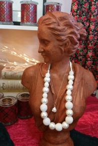 Emma Crocheted Pearls Necklace