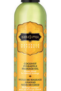 Kama Sutra Coconut Pineapple Naturals Massage Oil