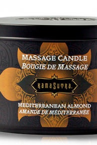 Kama Sutra Mediterranean Almond Massage Oil Candle