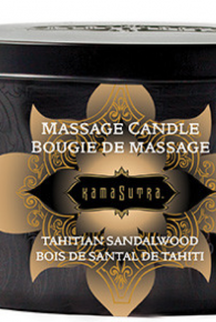 Kama Sutra Tahitian Sandalwood Massage Oil Candle