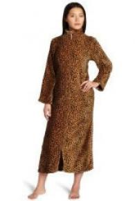 Casual Moments Leopard Zip Robe